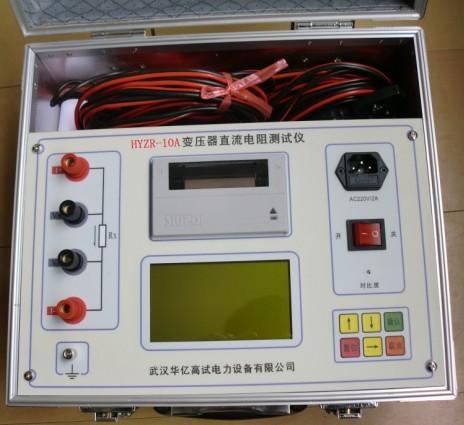 电机,互感器等感性设备的直流电阻.
